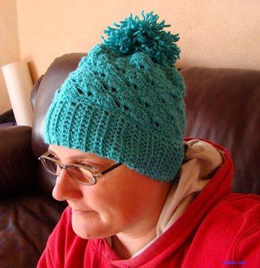 Aqua Stocking Hat $15