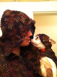Dog and Owner Hooded Cape