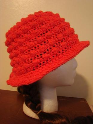 Pink Bobble Hat $15