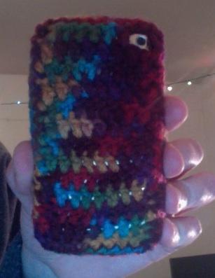 Back of iPod Case
