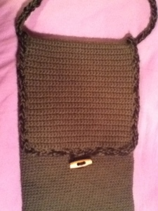 Front Flap of drum stick bag