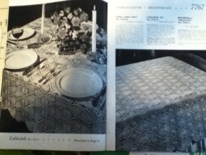 Pineapple Table Cloth and Bed Cover