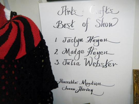my name as best in show