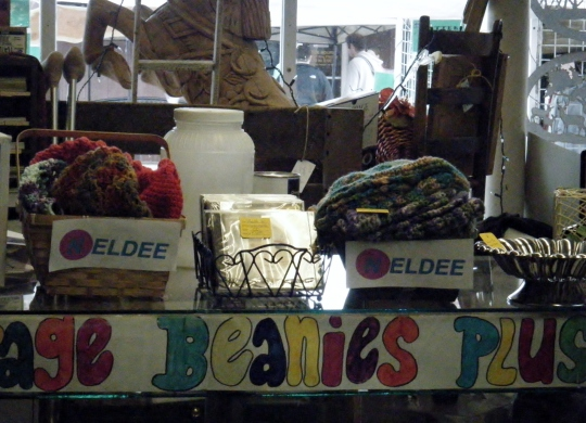 Neldee display at Loose Treasures