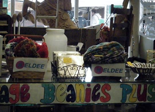 Neldee display at Loose Treasures