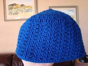 Blue Hat, Adult Size $15