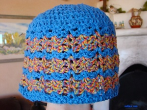 Blue Rainbow Hat, Youth Size $15