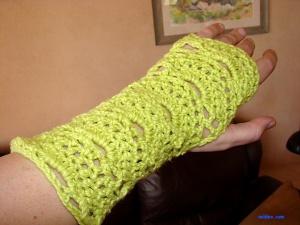 Neon Green Wristers $15