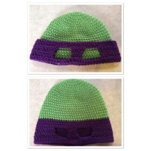 Purple Ninja Turtle Hat